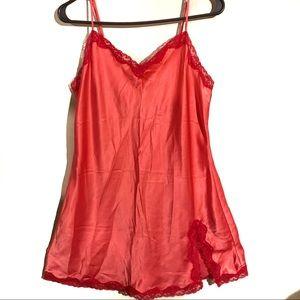 Victoria Secret Silky Chemise/Slip Size Large